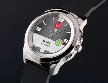 The ZeTime Smartwatch Blends Analog Style with Tech Function