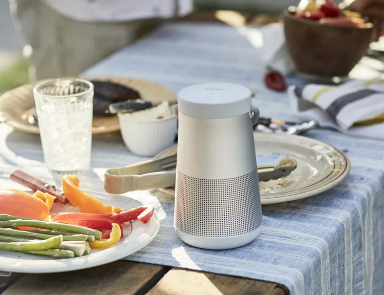 The SoundLink Revolve Speaker Brings Quality Bose Audio Anywhere You Want It at werd.com
