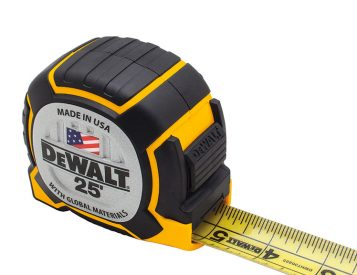 Tougher Than Ever: DeWalt Introduces the XP Series Tape Measure
