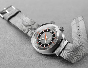 ORIS Revives a '70s Classic: The Chronoris Date Automatic