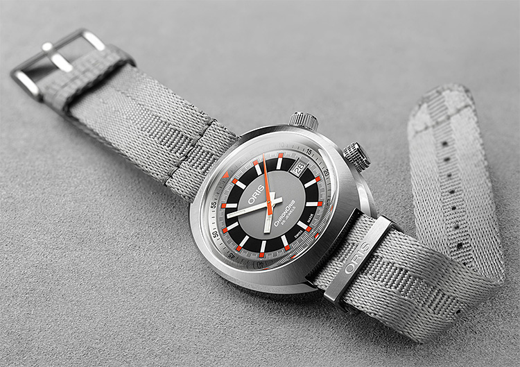 ORIS Revives a '70s Classic: The Chronoris Date Automatic at werd.com