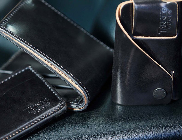 Tanner Goods Offers its Most Popular Wallets in Premium Shell Cordovan Leather at werd.com