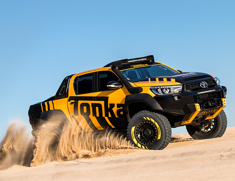 The Toyota HiLux Tonka Concept is a Real-Life Toy Truck at werd.com