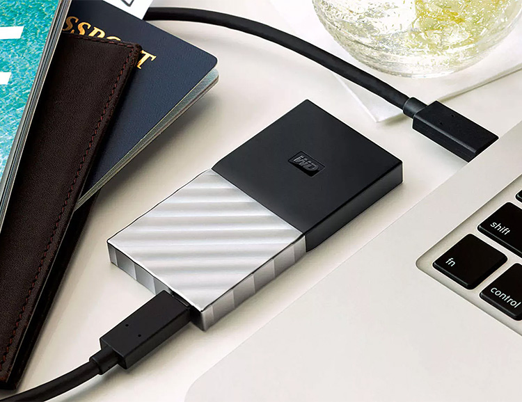 Western Digital Offers Their First Portable Solid State Drive at werd.com