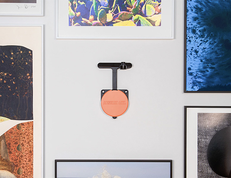 Hanging Art is Perfectly Simple with the Absolut Hangsmart at werd.com