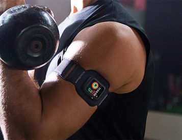 The ActionSleeve Armband Gets Your Watch Out Of The Way