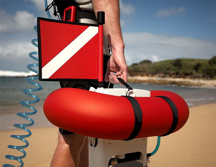 AirBuddy Makes Diving Simpler & Easier Than Ever at werd.com