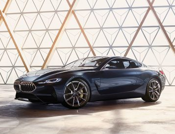 BMW Introduces Concept 8 Series Coupe