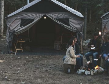 At Home in the Wild: The Barebones Lodge Tent