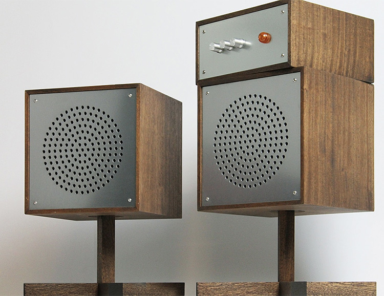 Love Hultén Introduces a Limited Edition, Handcrafted Swedish Speaker System at werd.com