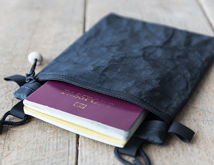 Protect Vital Travel Docs with SDR's Double Passport Pouch at werd.com