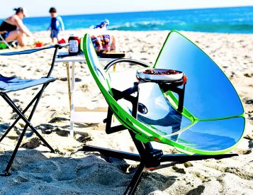 SolSource Sport Provides Solar Power For Your Beach BBQ