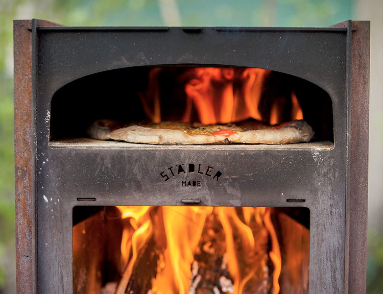 The Städler Made Oven Makes Perfect Pizza, Outdoors at werd.com