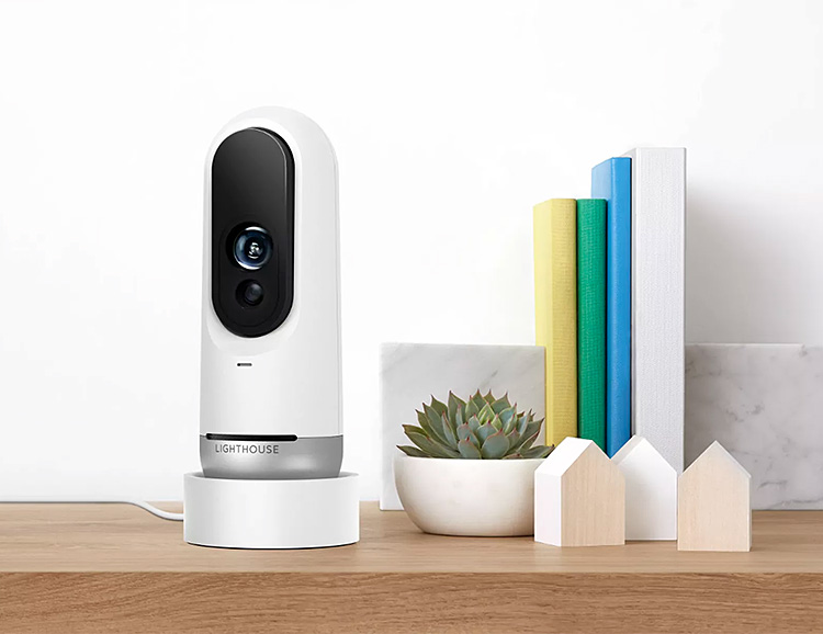 Lighthouse is a Security Cam & AI-Powered Smart Home Assistant at werd.com