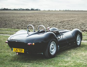The Knobbly Sports Racer is the First Road-Legal Roadster from Lister