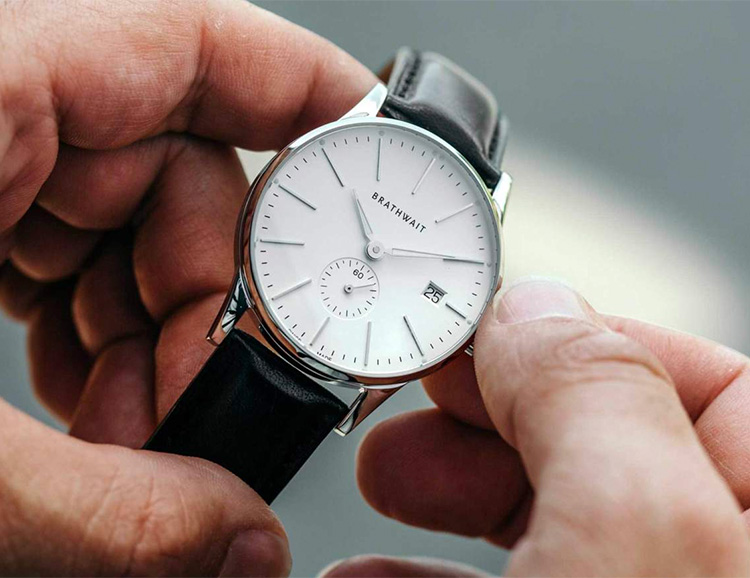 American Watchmaker Brathwait Introduces Limited Swiss Made Automatic at werd.com