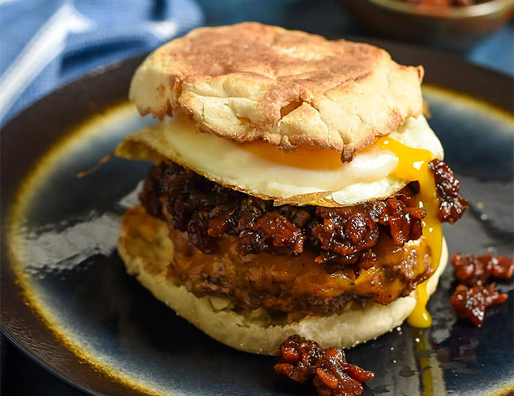 Build Your Own Ultimate Breakfast Burger at werd.com