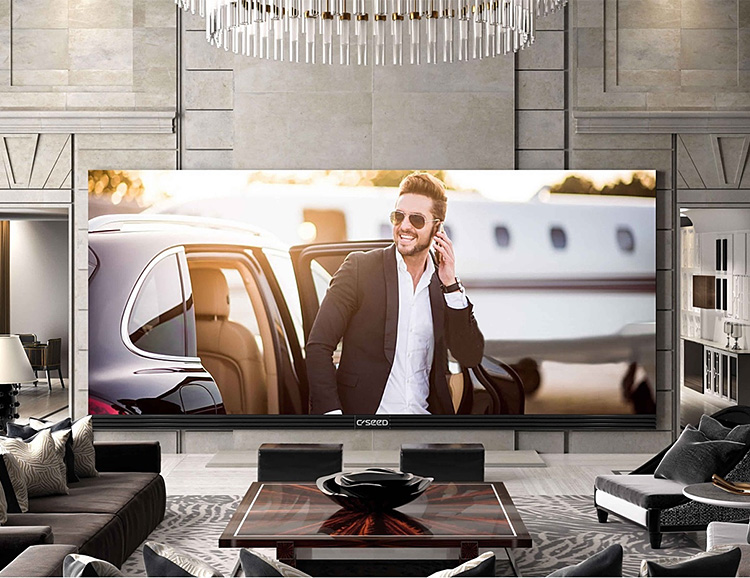 The Biggest 4K TV Money Can Buy: The C Seed 262 at werd.com