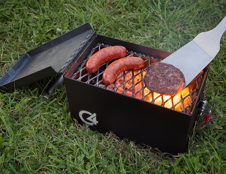 The C4 Portable is a Small Grill with Serious Firepower at werd.com