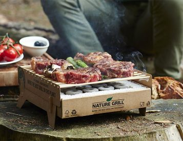 CasusGrill is the World's First Biodegradable BBQ