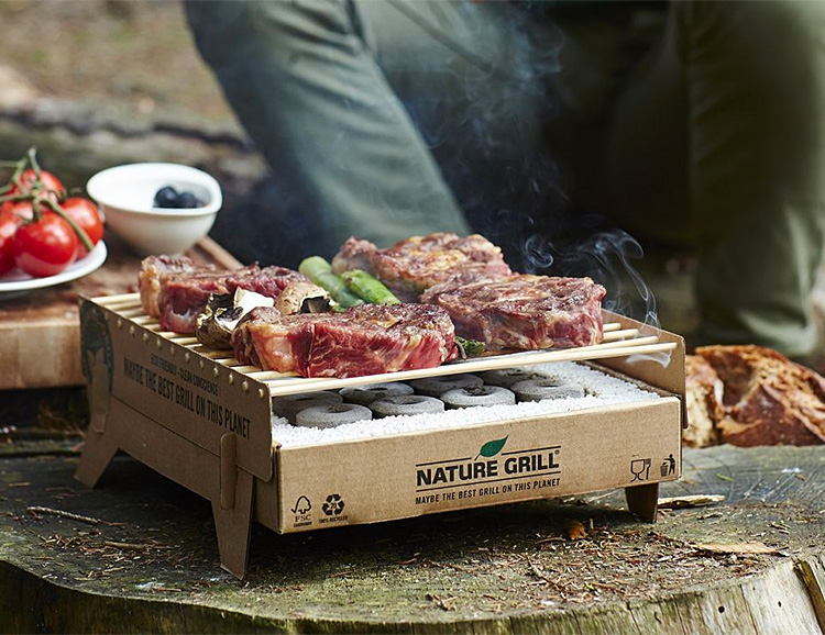 CasusGrill is the World's First Biodegradable BBQ at werd.com