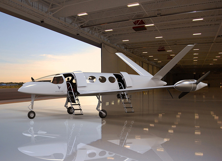This Electric Airplane Has a 600-Mile Range at werd.com