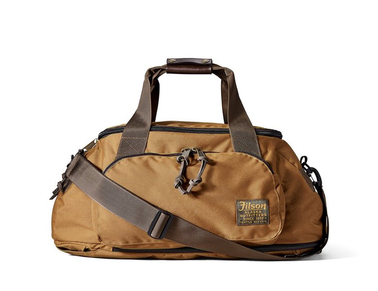However You Haul It, The Filson Duffle Pack Is Good To Go at werd.com