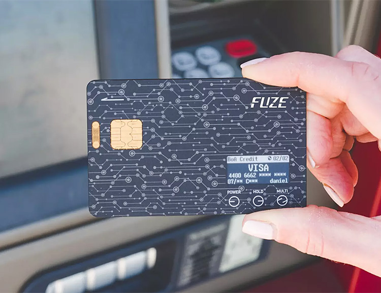 The Fuze Card Replaces All the Plastic in Your Wallet at werd.com