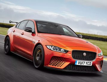 Jaguar Announces Race-Ready XE SV Project 8