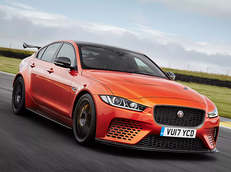Jaguar Announces Race-Ready XE SV Project 8 at werd.com
