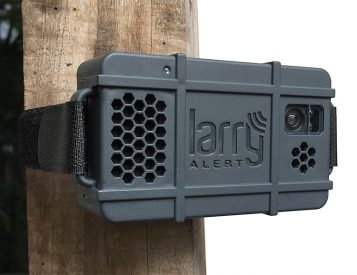 While You're Away, Larry Alert Keeps Your Gear Safe & Secure