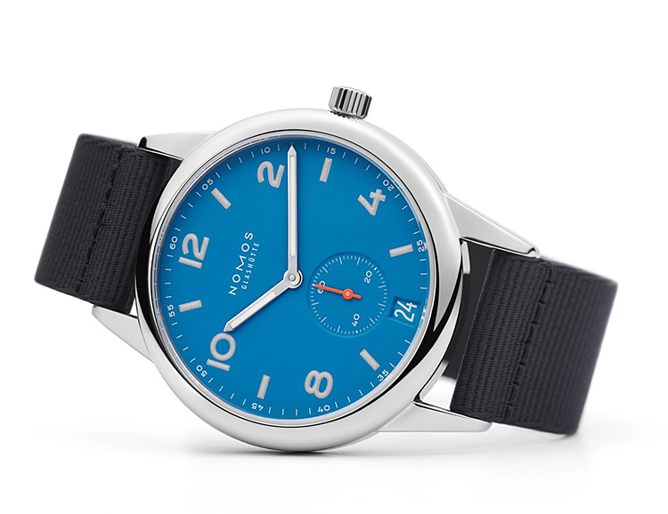 Nomos Aqua Series Watches Bring Bright Summer Style and Water Resistance at werd.com