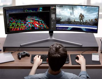 Samsung Introduces Super-Size CHG90 Gaming Monitor