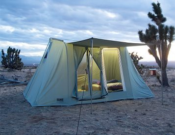 Springbar Canvas Tents are a Camping Classic