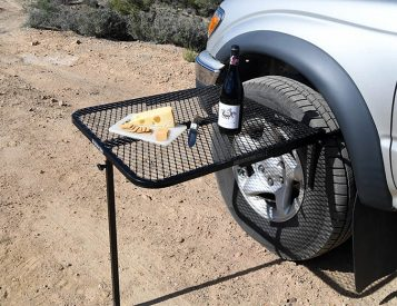 The Tailgater Tire Table is Built To Chill
