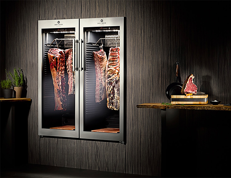 The Dry Ager Fridge Gives You Gourmet-Quality Aged Meats At Home at werd.com