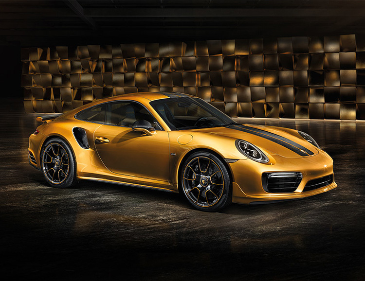 A Porsche 911 Turbo S That's Even More Exclusive at werd.com