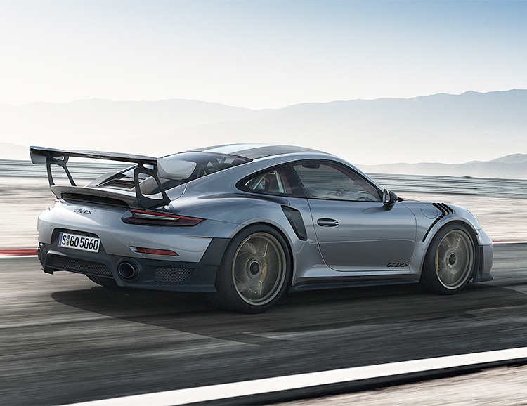 The Most Powerful 911 Ever Built: The 2018 Porsche 911 GT2 RS at werd.com