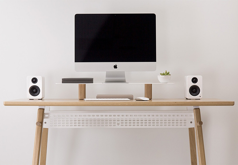 Artifox Introduces Larger Standing Desk 02 at werd.com