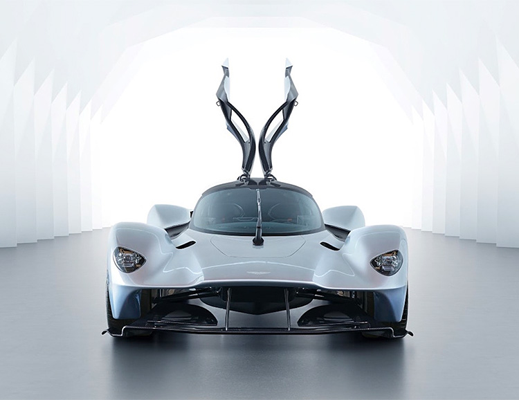 The Supercar Of The Future Has Arrived: Aston Martin Valkyrie at werd.com