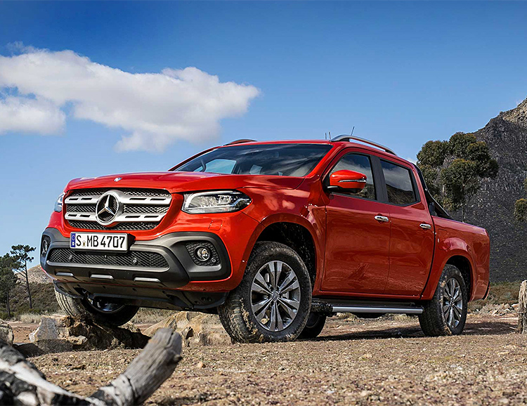 Mercedes-Benz Debuts Its First Pickup, The X-Class at werd.com