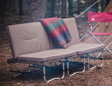 Kick Back & Chill on Snow Peak's Camp Couch