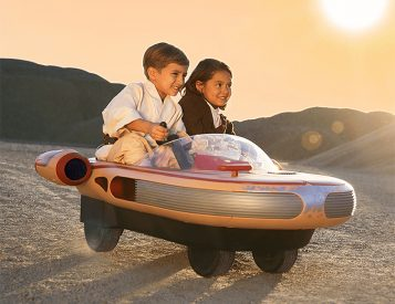 Radio Flyer Goes Retro-Futuristic with a Kids-Only Star Wars Landspeeder
