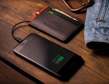 The Volterman Smart Wallet Does Much More Than Carry Cash