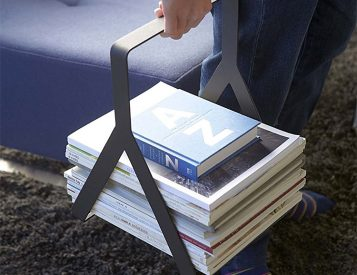 Get Your Books & Magazines a Nice Rack