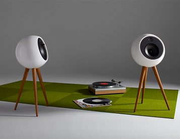 The Moonraker Speaker System Merges Modern Audio & Mid-Century Design