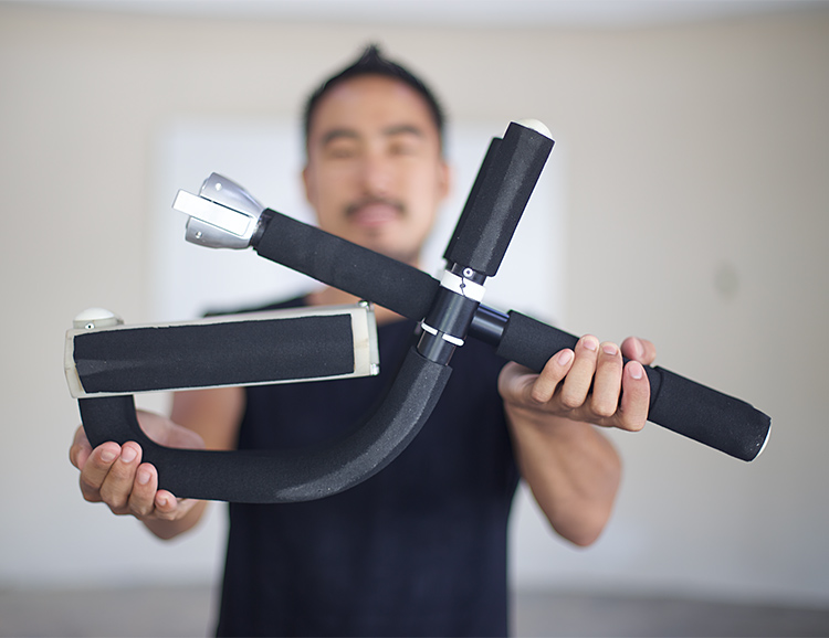 FLEXR is the World's First Foldable Pull-Up Bar at werd.com
