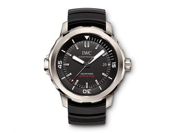 IWC Introduces its Thinnest Dive Watch Ever