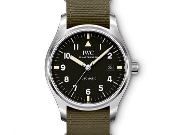 Paying Tribute to a Classic, IWC Revives Their Most Iconic Pilot's Watch