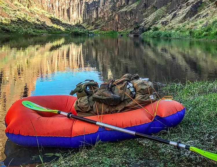 The Litewater Packable Dinghy Expands Your Wilderness Playground at werd.com